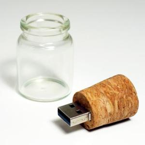Message In A Bottle USB Zip Drive