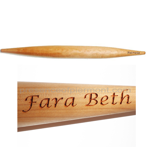 Fabulous gift for the extreme or not so extreme baker.  Personalized Rolling Pin